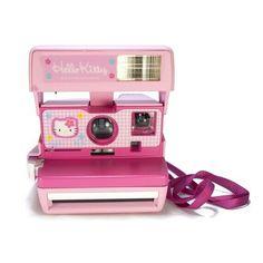 Hello Kitty Polaroid Camera - Hello Kitty Takes Over Sanrio Hello Kitty, Hello Kitty Items, Pretty Cats, Pretty In Pink, Pretty Kitty, Pusheen, Rilakkuma, Totoro, Chibi