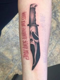 Ghostface Scream Tattoo premier tattoo studio garden city Michigan, tattoo, horror tattoo Portrait Tattoo Sleeve, Sleeve Tattoos, Badass Tattoos, Cute Tattoos, Foot Tattoos, Body Art Tattoos, Spooky Tattoos, Horror Tattoos, Ghostface Scream