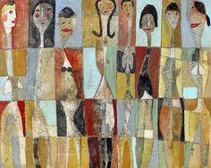 Eight Ladies by Scott Bergey