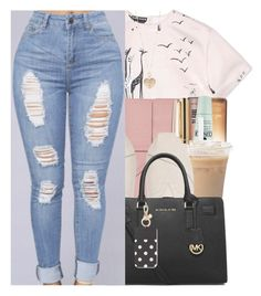 """""""""""You're miserable, edgy and tired. You're in the perfect mood for journalism."""" ― Warren Ellis"""" by w-on-der-lan-d ❤ liked on Polyvore featuring Rochas, Benefit, Clinique, Bynd Artisan, Swarovski, TOMS, MICHAEL Michael Kors, Kate Spade, Betsey Johnson and casual"""