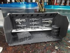 Mordian 7th Regiment: Necromunda - Shipping container shops built!
