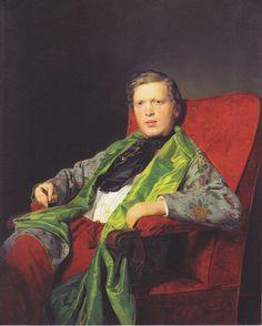 Three Quarter Length Portrait Sporting Mark Ivan Clark Contemporary Charcoal Drawing