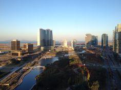 Central park, Songdo, Korea oct 2015