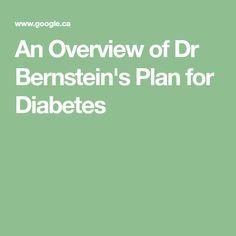 dr. recetas de dieta de diabetes bernstein