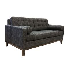 Armen Living LC7252CH - Centennial Loveseat Charcoal Fabric | Sale Price: $1,099.00