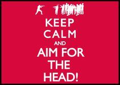 Zombies . . . Keep Calm . . .