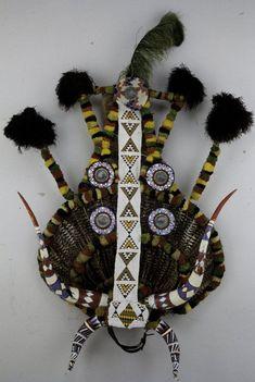 Image result for shaka zulu head dress