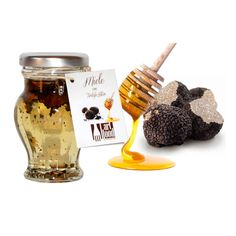 Miele Italiano di Acacia con Tartufo Estivo -  Italian Acacia Honey with Black Summer Truffle Enjoy it!