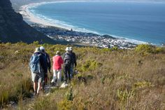 A view of the ocean on a hike in Hermanus