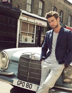 Chace Crawford--I'd be crazy to not let him deal drugs from my upper east side flat.