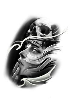 Hermoso Tatuajes Tattoos, Chicano Tattoos, Skull Tattoos, Body Art Tattoos, New Tattoos, Sleeve Tattoos, Tattoo Sketches, Tattoo Drawings, Totenkopf Tattoos