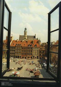 Rynek Starego Miasta 1993 // fot. E. Pawlak