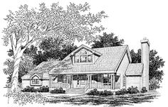 Eplans Country House Plan - Sensational Screened Porch - 2043 Square Feet and 3 Bedrooms from Eplans - House Plan Code HWEPL56379