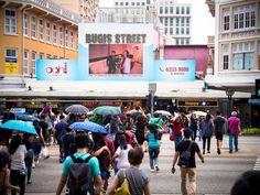 Bugis Street Singapore Travel, Instagram Worthy, Street View