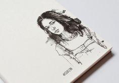 #ink #inktober #mermaid #тушьперо #graphic #графика #platinumpen #sketch #скетч #sketchbook #рисуноктушью #b&w #blackandwhite #эскиз #art #portrait #портрет