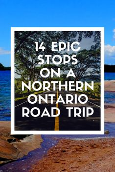 Travel to Northern Ontario to see some epic places in Ontario with this amazing Northwestern Ontario road trip that includes 14 EPIC stops! Ontario Camping, Ontario Travel, Ontario City, Ontario Parks, Places To Travel, Places To Go, Travel Local, Travel Destinations, My Road Trip