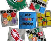 Quiet Books For activity Bags
