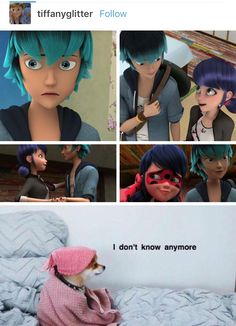 I like Luka, and i hope we get to see him again, but what I want out of this is for Adrien to see Marinette and Luka getting closer and for Adrien to realize he also has a crush on Marinette because our poor sunshine son is so oblivious!