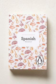 Spanish Phrasebook #anthropologie