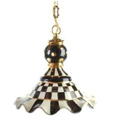 Courtly Check  Medium Pendant Lamp