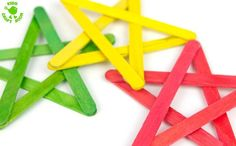 How to make a popsicle stick star step 6