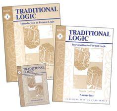 Traditional Logic I Set -$64.95 at Rainbow Resource