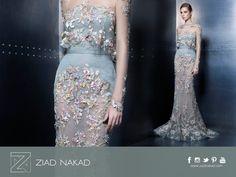 #ZiadNakad #fashion #HauteCouture #designer #elegant #dress