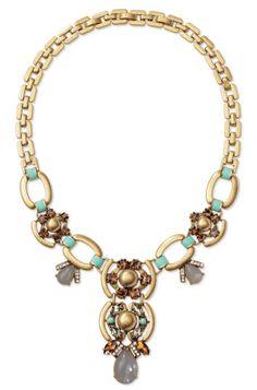Stella & Dot Statement Necklace #jewelry #style #fashion #shopping