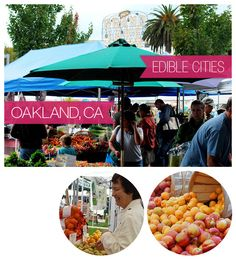 Oakland, CA and Stone Fruits with Dianne from Will Write for Food / @Dianne Jacob
