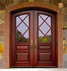Doors By Decora   Country French Exterior Wood Entry Door .
