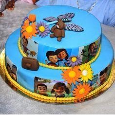 Jw cake Caleb and Sophia cake Torta di Lele e Sofia Caleb Y Sophia, Sophia Cake, Beautiful Cakes, Amazing Cakes, Jw Bible, Bible Truth, Family Worship Night, Bible Cake, Pioneer Gifts