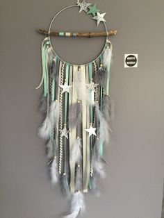 Wooden Crafts Reserved list Jennifer Morin Dreamcatcher driftwood and stars Diy And Crafts, Crafts For Kids, Arts And Crafts, Dream Catcher Art, Diy Dream Catcher For Kids, Dream Catcher Painting, Diy Tumblr, Creation Deco, Ribbon Work