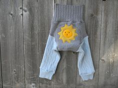 Upcycled Wool Longies Soaker Cover Diaper Cover With by Myecobaby