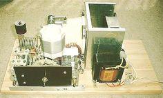 FRI-1500 HF amplifier with GU-43B