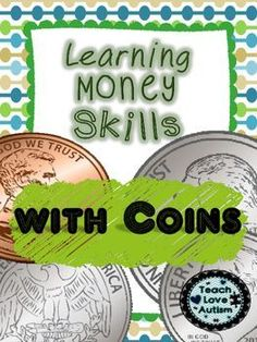 This pack contains many different kinds of activities for reinforcing skills with coins and money. They will help students with matching skills, vocabulary, and fine motor skills. You can use these materials for creating file folder activities, magnet cookie sheet activities, interactive binder tasks, and work tasks.What's Included:Match the Coins (16 pages)Draw a line from Coin to Name (5 pages)Write the name of the Coin (2 pages)Spell the Coin Name (1 page)Draw a Line from Coin to Amount…