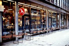 Fuglen, Oslo: The world's most stylish cafe-furniture shop - Gadling Norway Oslo, Cafe Furniture, Vintage Furniture, Best Coffee Shop, Coffee Shops, Night Life, The Good Place, Places To Visit, Around The Worlds