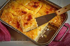 Mod de preparare Placinta cu branza si portocale: Intr-un castron mixeaza cu blenderul vertical branza cu ouale, zaharul, smantana si coaja de portocala. Taie foile de placinta in doua. Vom avea 12 foi de placinta mici, pe care le vom unge cu ulei pe fiecare in parte. Aseaza in tava … Breakfast Dessert, Breakfast Ideas, Cornbread, Lasagna, Macaroni And Cheese, Yummy Food, Eat, Cooking, Ethnic Recipes