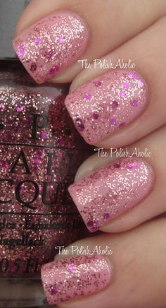 The PolishAholic: OPI Pink of Hearts 2012 Swatches & Review