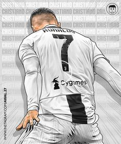 Christano Ronaldo, Ronaldo Football, Ronaldo Juventus, Neymar, Messi, Football Rules, Football Love, Best Football Players, Football Art