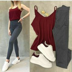 Girls Fashion Clothes, Winter Fashion Outfits, Look Fashion, Casual Outfits For Girls, Stylish Outfits, Cool Outfits, Western Outfits, Ideias Fashion, Clothing