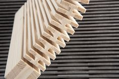 Flexible wood by Dukta #wood #woodworking #materials #interior #architecture #dukta