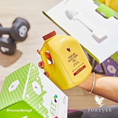 """""""Did you know that #Forever #AloeVeraGel contains 96% #aloe and is an ideal digestive aid? Packed with goodness, this gel can help support immune function, skin and gastro-intestinal health.  www.aloeforever4you.net  +971567289266  aloeforever4you@flp.com"""