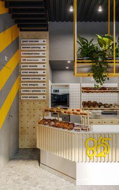 Cake Shop Design, Coffee Shop Design, Bakery Design, Cafe Design, Bakery Shop Interior, Restaurant Interior Design, Interior Design Services, Plywood Furniture, Design Furniture