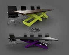 Custom Conference Tables & Desks that will be the center piece of your office! IRcustom.com