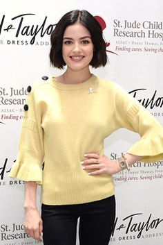Lucy Hale at Let's Do Something Good Together with St. Jude Children's Research Hospital hosted by Lord & Taylor at Lord & Taylor in New York   April 22nd, 2017