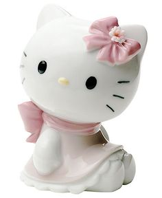 Nao by Lladro Collectible Figurine, Hello Kitty