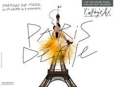 galeries lafayette casta paris dfile - Galerie Lafayette Mariage