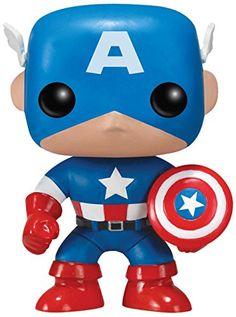 FunKo POP Marvel : Captain America Toy Figure FunKo http://www.amazon.com/dp/B004R7NOOQ/ref=cm_sw_r_pi_dp_wowuvb1ZYNNSC