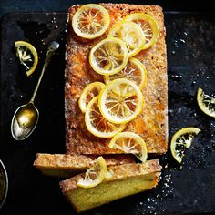 Double lemon drizzle cake - Sainsbury's Magazine