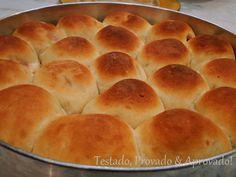 Pãezinhos de batatas recheados Pães de Saborosos